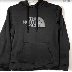 The North face black hoodie Sz S
